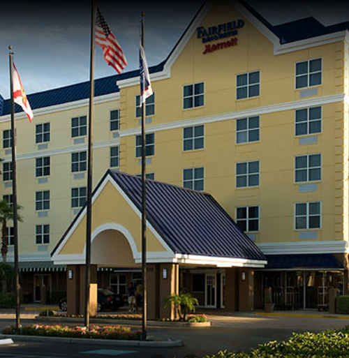 pizza delivery to Fairfield Inn & Suites Lake Buena Vista